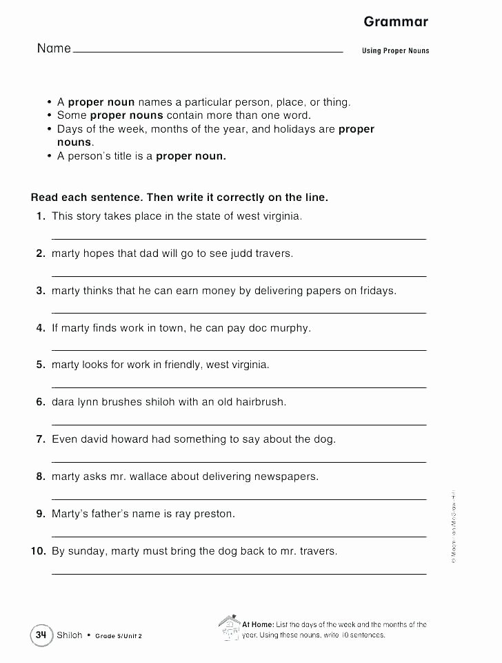 Editing Sentences 3rd Grade Snapshot Image Punctuation Worksheets 3 and Grade