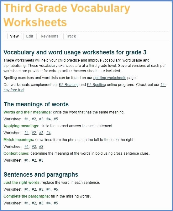 new grade 3 vocabulary worksheets and workbook development 3rd 7th