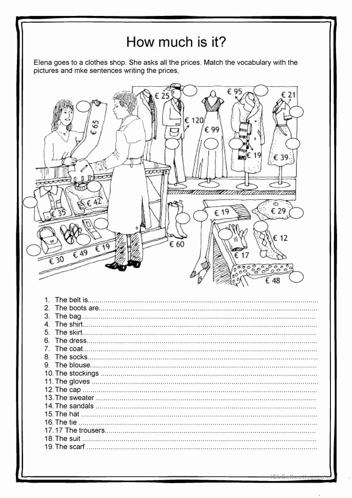Ee Ea Ey Worksheets Fashion How Much is It Worksheet Free Esl Printable