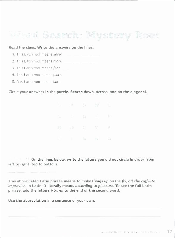 Eighth Grade Vocabulary Worksheets 8th Grade Writing Worksheets