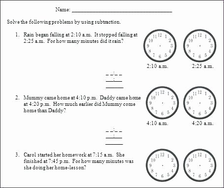 Elapsed Time 3rd Grade Worksheets Math Worksheets for Grade 4 Elapsed Time – fordhamitac