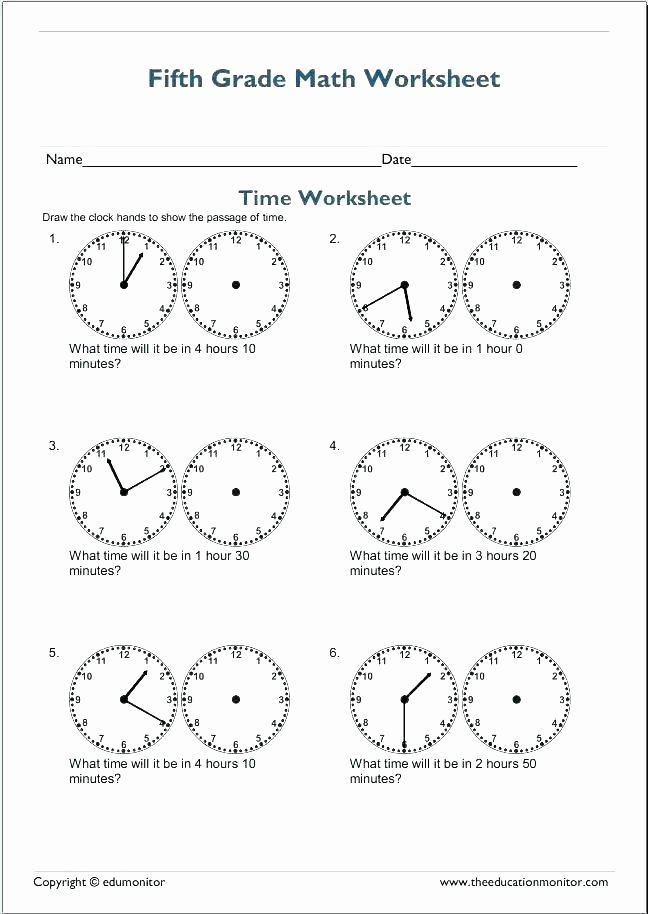 Elapsed Time 3rd Grade Worksheets Third Grade Time Worksheets Resources Math Telling Time