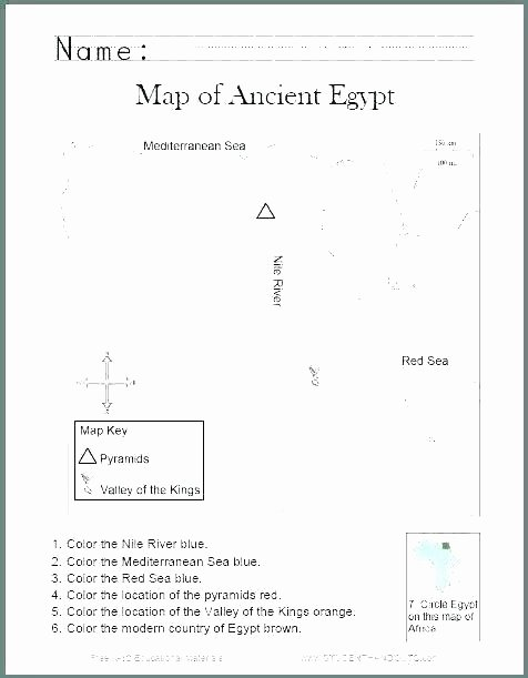 Elementary Map Skills Worksheets Printable Map Skills Worksheets for Kindergarten Printable