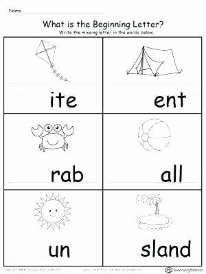 Ending sound Worksheet Inspirational Kindergarten Letter sound Worksheets – Primalvape