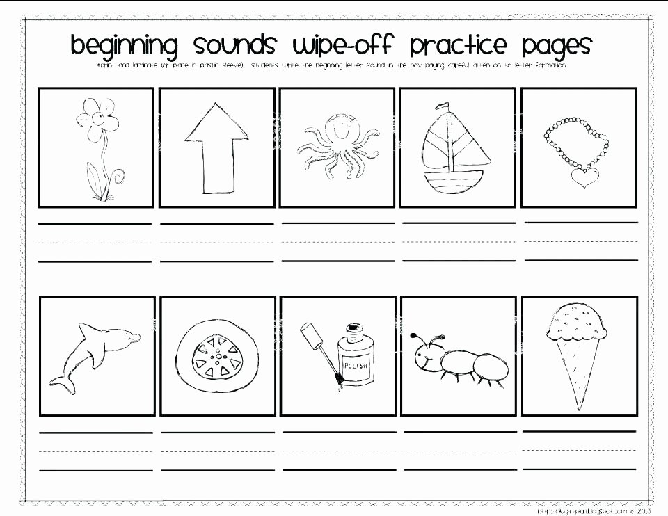 Ending sound Worksheet Unique Letter sound Worksheets Kindergarten