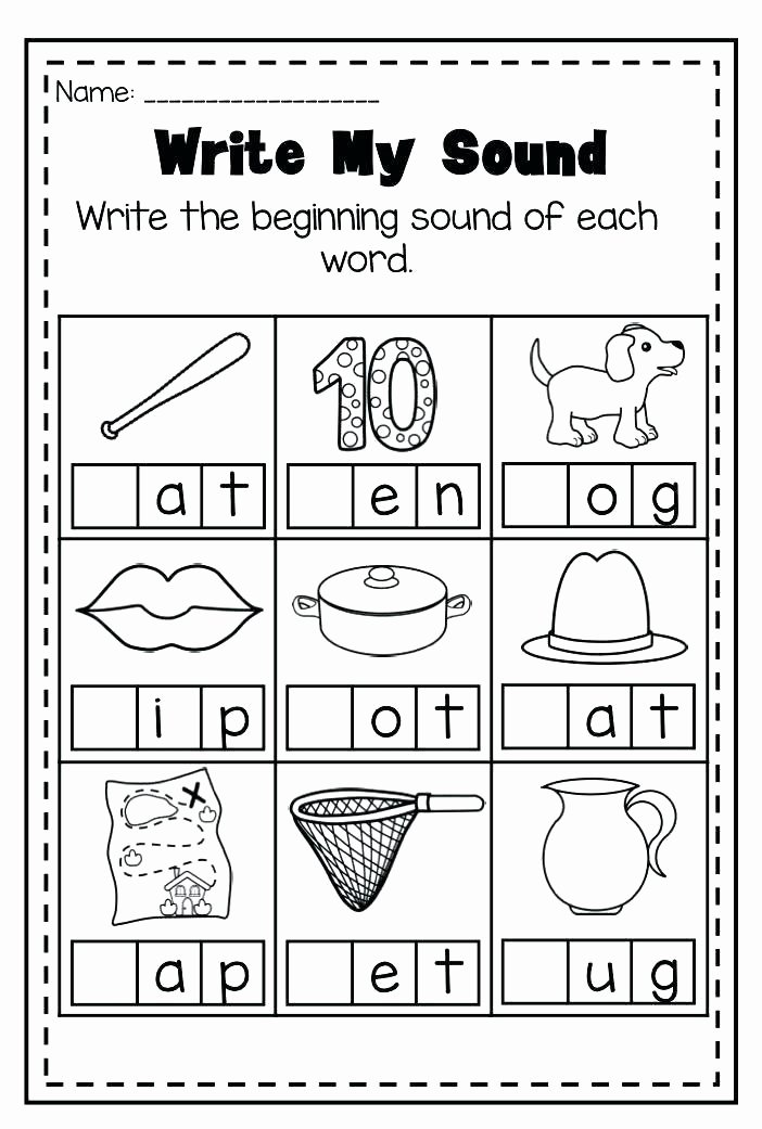 Ending sound Worksheets Best Of K Reading Worksheets