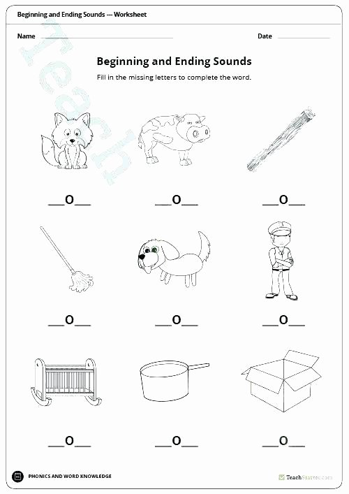 Ending sound Worksheets Free 4 Kindergarten Vowel sounds Worksheets Teaching Vowels