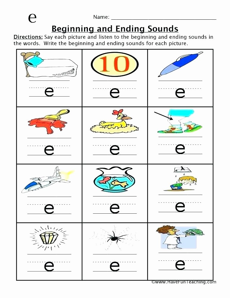 Ending sound Worksheets Free Consonant Clusters Worksheet Free Printable Worksheets Made