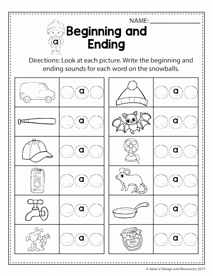 Ending sound Worksheets Free Consonant Worksheets