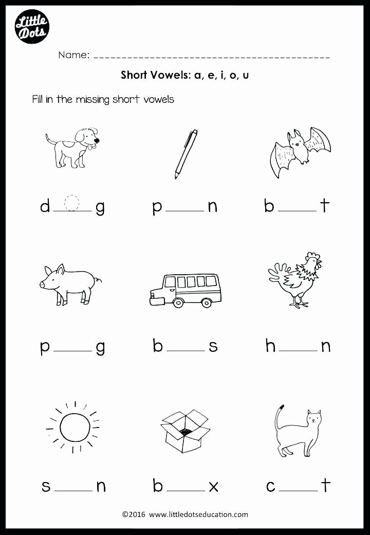 Ending sound Worksheets Free Kindergarten Worksheets Kindergarten Middle sound Worksheets