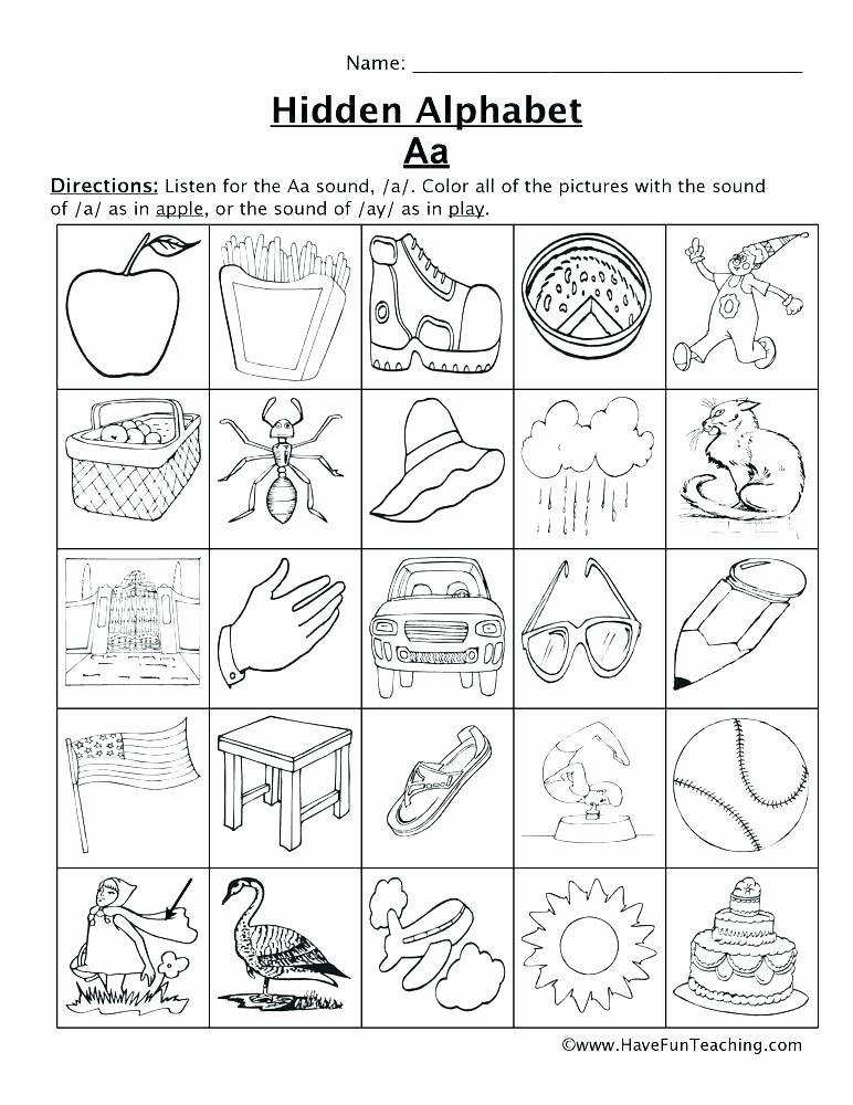 Ending sound Worksheets Inspirational Free Letter sound Worksheets
