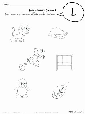 Ending sound Worksheets New Letter B Worksheets for Preschool Ending sound