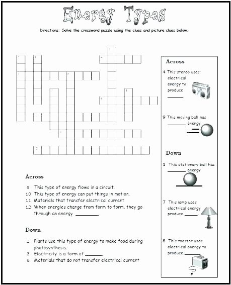 Energy 4th Grade Worksheets Grade Science Worksheet force and Motion the Best