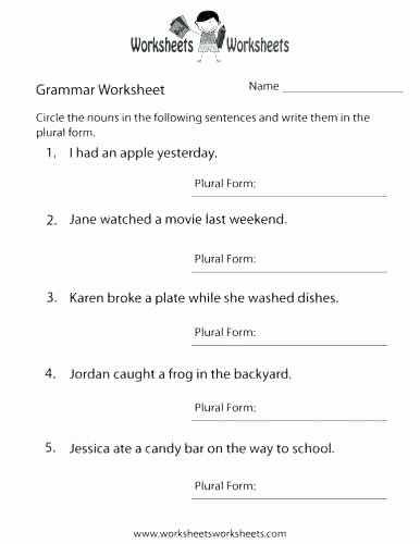 English Worksheets for 8th Grade Grade Grammar Goulash Book Worksheets 2 with Answer Keys