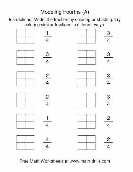 Equivalent Fractions Coloring Worksheet 4th Grade Math Fractions Worksheets