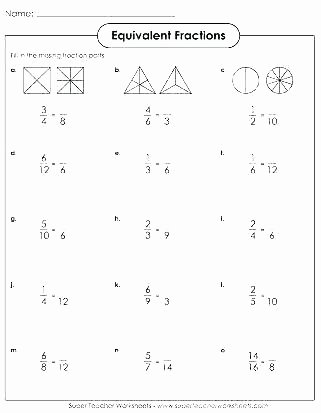 Equivalent Fractions Worksheets 5th Grade Fractions Worksheets Grade 4