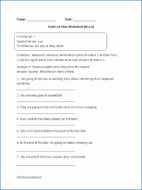 Esl Writing Worksheets Pdf Writing Worksheets 7th Grade Language Arts Pdf 7 Reading
