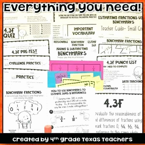 Estimate Sums and Differences Worksheets Benchmark Fractions Worksheets 5th Grade Number Line