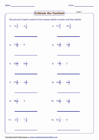 Estimate Sums Worksheet Estimation Maths Worksheets – Math Worksheets