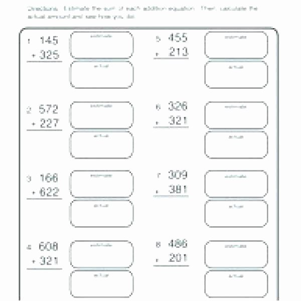 Estimate Sums Worksheet Worksheets On Estimation – Stnicholaseriecounty