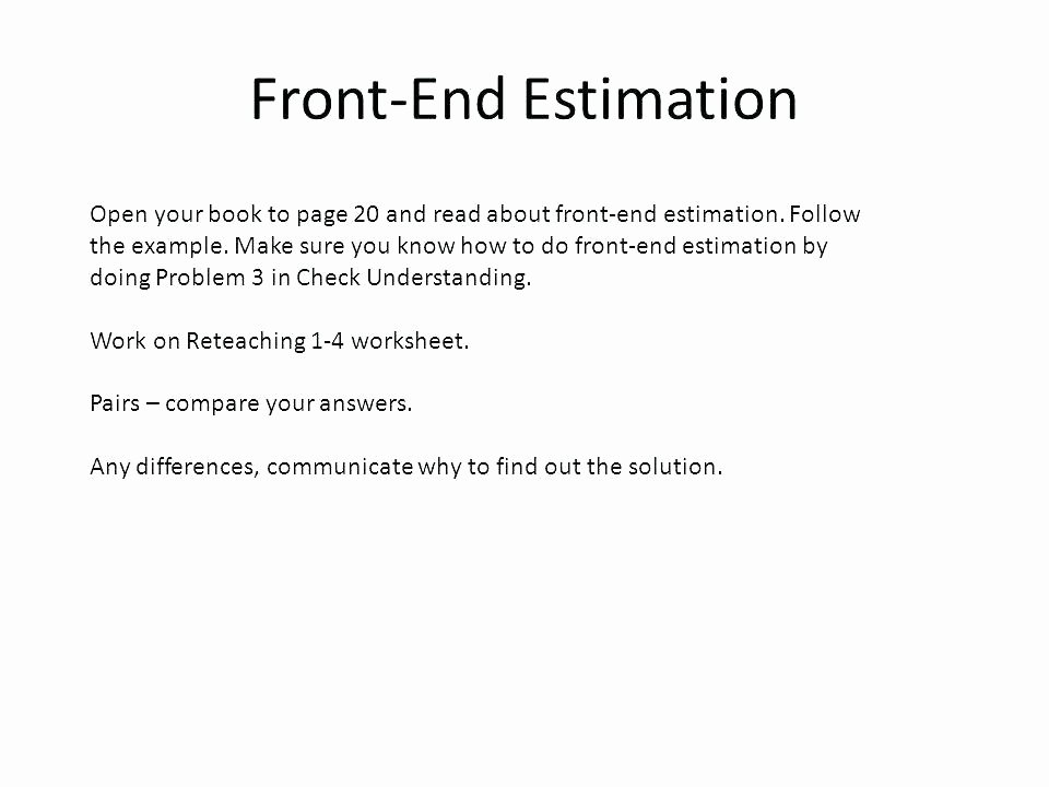 Estimating Products Worksheets 4th Grade Estimation Worksheets 4th Grade – Anumaquinaria