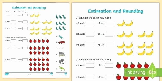 Estimating Products Worksheets 4th Grade Free Printable Estimation Worksheets Estimating Sums