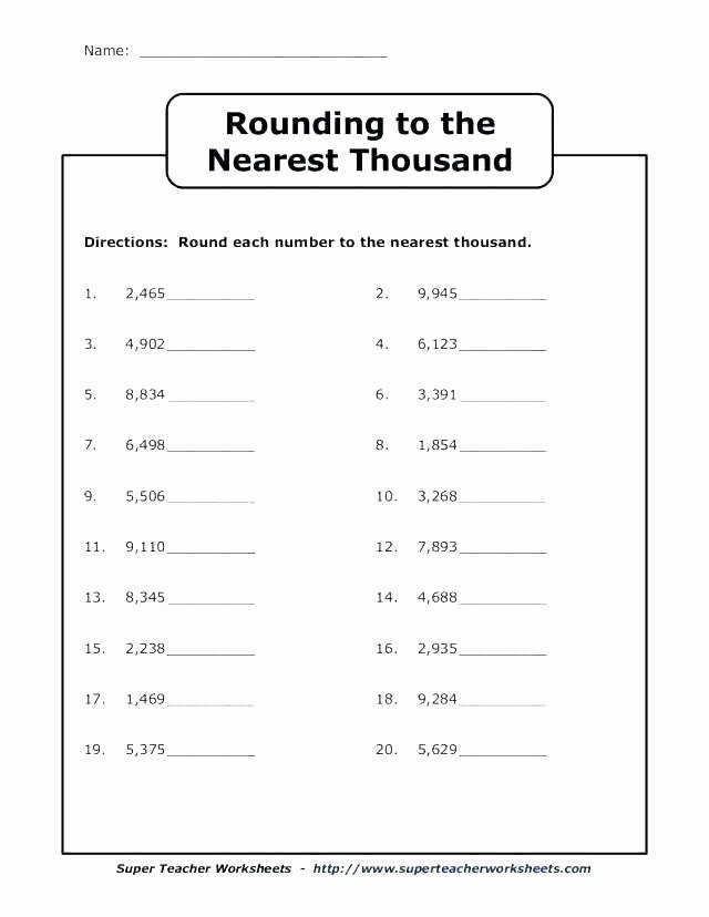 Estimating Worksheets 3rd Grade Free Estimation Worksheets