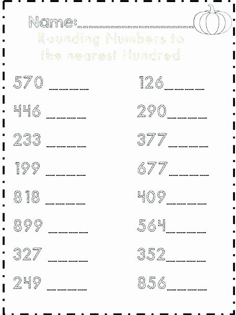 Estimating Worksheets 3rd Grade Rounding Estimation Worksheets Rounding and Estimating