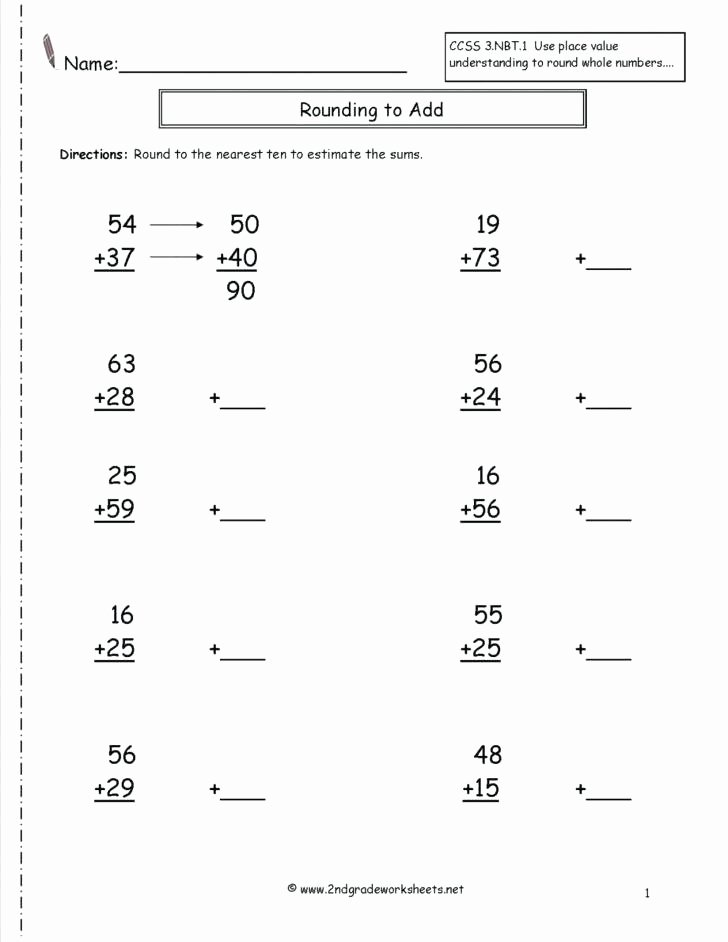 Estimating Worksheets 3rd Grade Rounding Sweet Estimation Worksheets Math and Estimating
