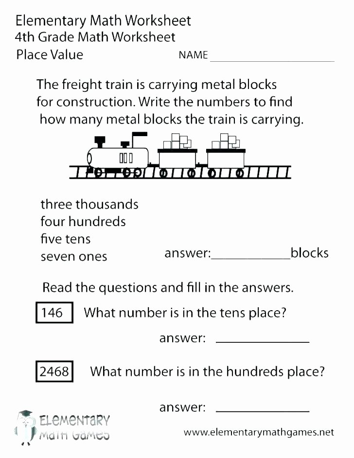 Estimation Maths Worksheets Estimating Sums and Differences 3 Digits Word Problems Math