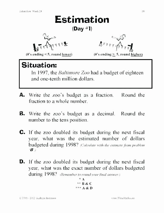 grade mon core math worksheets for graders amazing estimation free 3 english