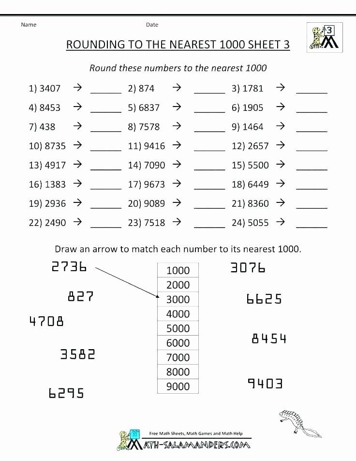 Estimation Worksheets 3rd Grade Free Printable Estimation Worksheets Estimating Sums