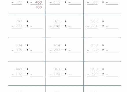 Estimation Worksheets for 3rd Grade Rounding Estimation Worksheets Rounding and Estimating