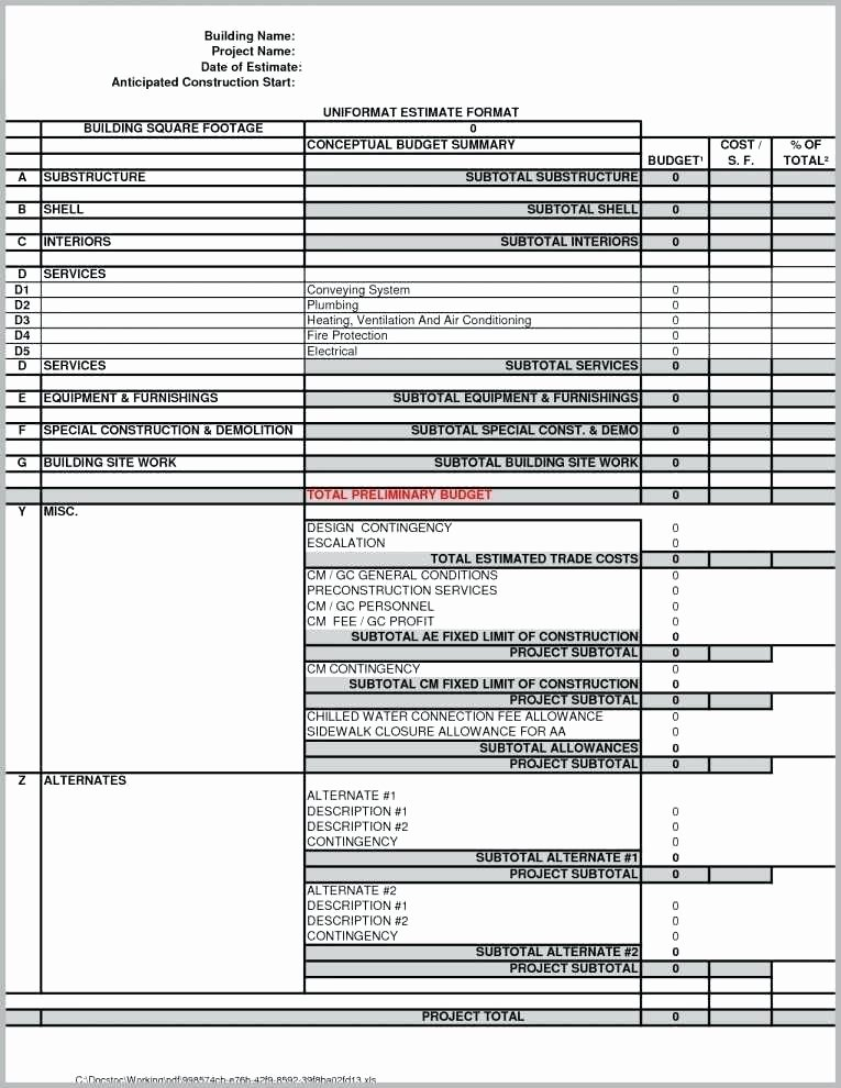 Estimation Worksheets for Construction Free Estimation Worksheets Full Size Rounding and