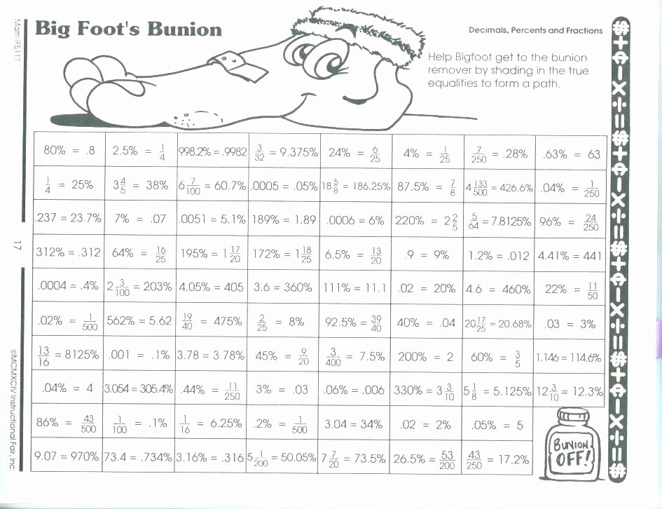 Everyday Math 4th Grade Worksheets Everyday Math Printable Worksheets Grade for Fractions