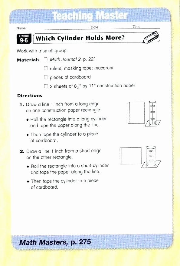 Everyday Math 4th Grade Worksheets Everyday Mathematics Grade 2 Worksheets Grade Everyday Math