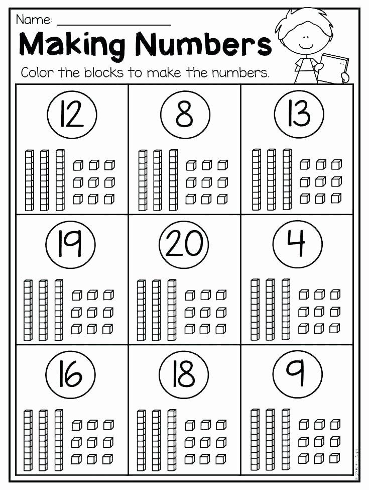 Expanded form Worksheets 1st Grade Place Value Worksheets for Grade 1