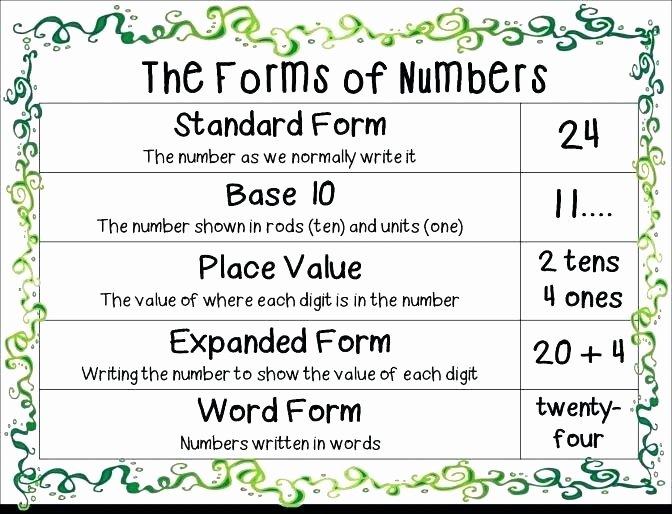 Expanded form Worksheets 5th Grade Expanded form Worksheets Grade Place Value Decimals In