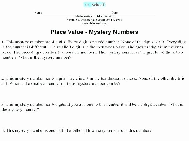 Expanded Notation with Decimals Worksheets Word Problems for 5th Grade Decimals Multi Step Paring