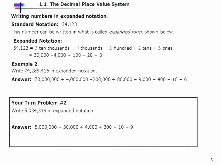 Expanded Notation Worksheets 3rd Grade What is A Expanded form In Math – ispe Indonesia