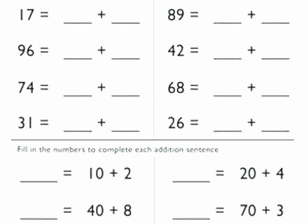 Expanded Notation Worksheets Expanded Notation Worksheets for 4th Grade form Math