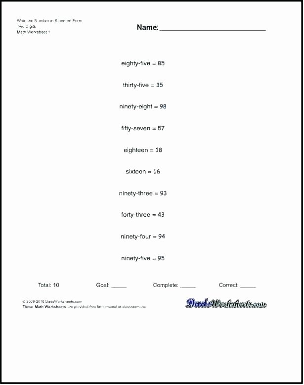 Expanded Notation Worksheets Numbers In Word form Worksheets – butterbeebetty