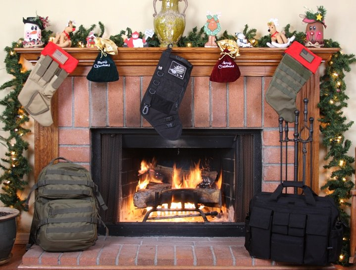 Extreme Dot to Dot Christmas La Police Gear Molle Elite Tactical Christmas Stocking