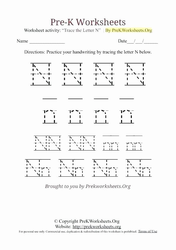 F Worksheets for Preschool Free Printable Letter O Tracing Worksheets for Preschool