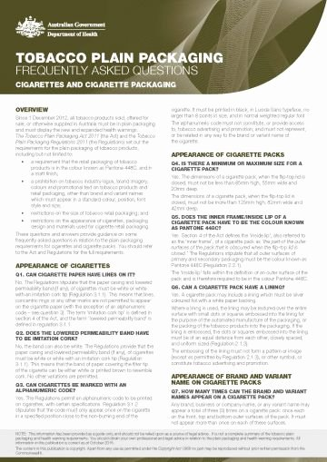 Fact V Opinion Worksheet tobacco Plain Packaging – Cigarettes and Cigarette Packaging