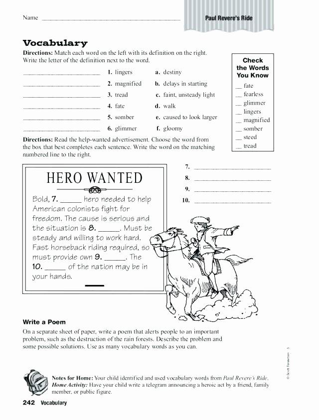 Fahrenheit 451 Literary Devices Worksheet Grade Literature Worksheets Reading Printable Prehension