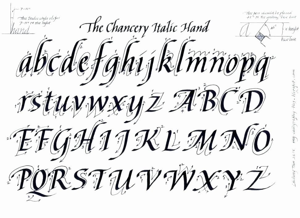 Fake Calligraphy Practice Sheets Calligraphy Letters Worksheets