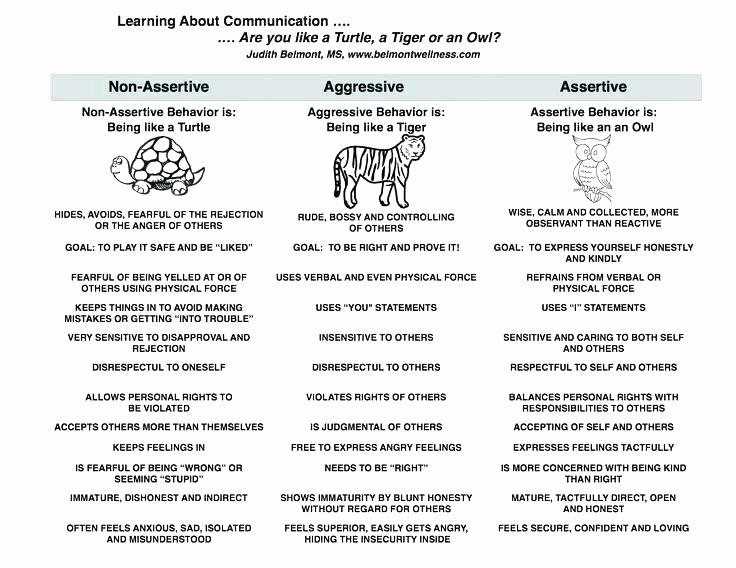 Family therapy Communication Worksheets Munication Worksheets for Students
