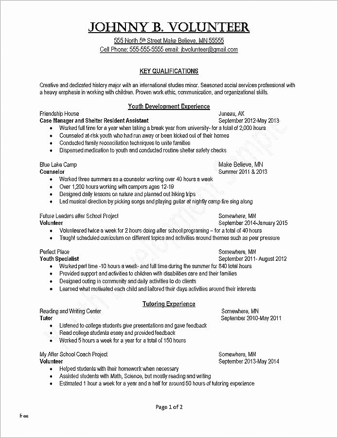 Family Tree Worksheets for Kids Writing A Resume for College Best Entry Level Customer