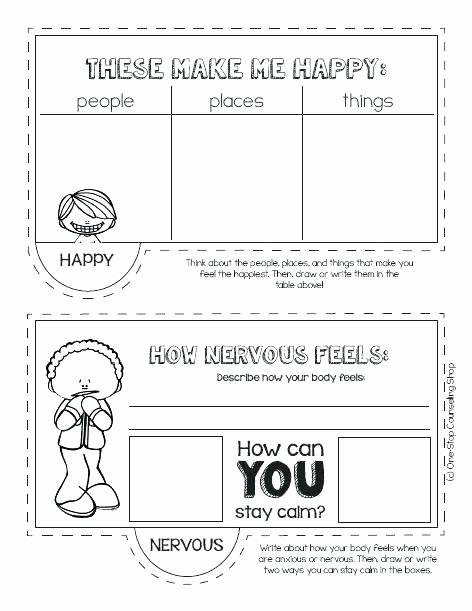 Feelings and Emotions Worksheets Printable Feelings and Emotions Worksheets Printable Fresh 301 Free